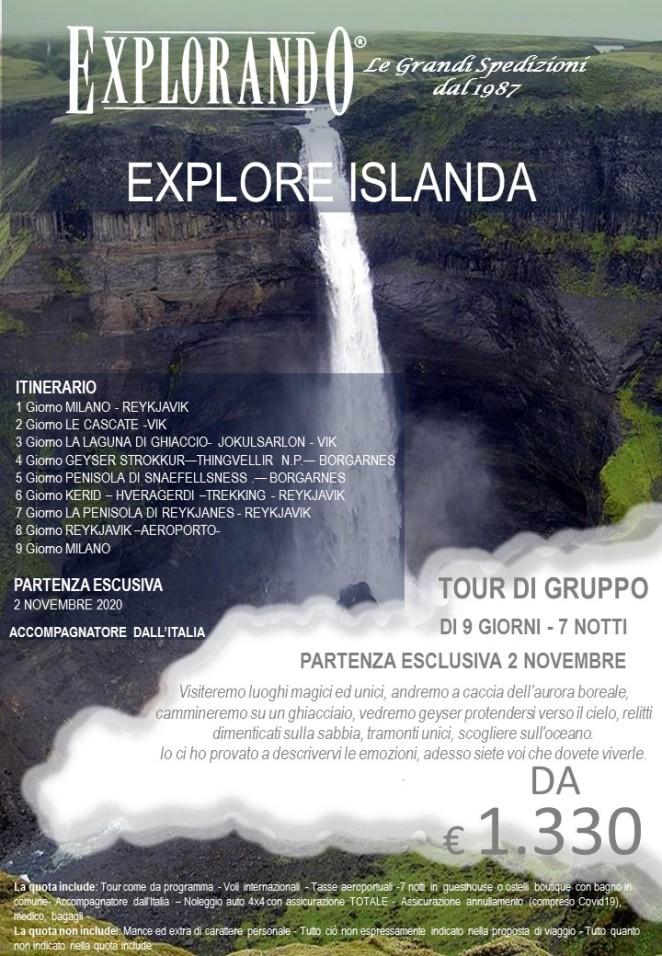 EXPLORE ISLANDA