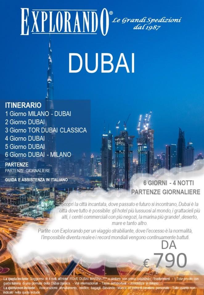 LOCANDINA DUBAI NEW